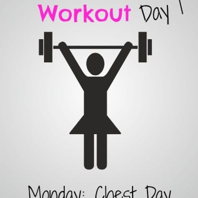 #GirlsWhoLift Workout: Monday Chest Day
