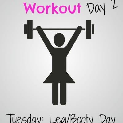 #GirlsWhoLift Workout: Tuesday Leg/Booty Day