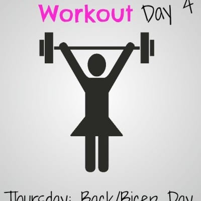 #GirlsWhoLift Workout: Thursday Back/Bicep Day!