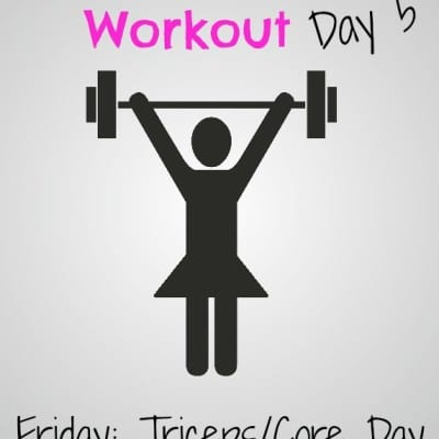 #GirlsWhoLift Workout: Friday Tricep/Core Day