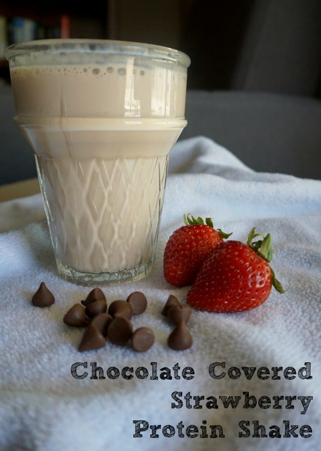 chocolate-covered-strawberry-protein-shake