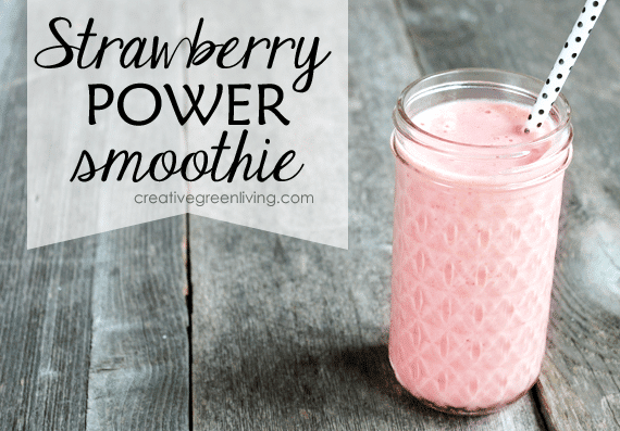 Great strawberry smoothie recipe high in vitamin C