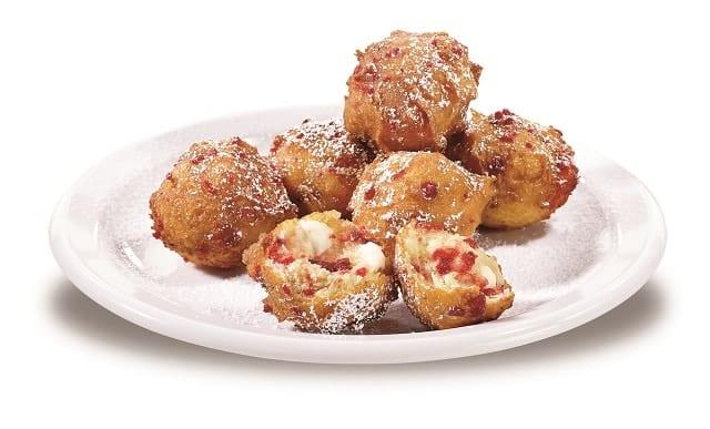 Strawberry Pancake Puppies
