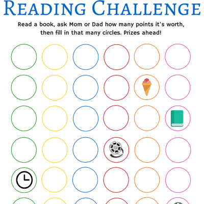 Summer Reading Challenge Free Printable