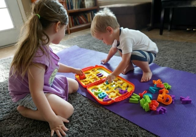 vanessa-and-harry-learning-letters