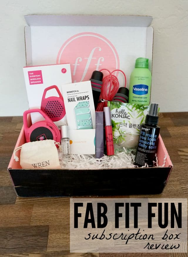The Fabfitfun Box Comes Once Each Season And Is Ng Full With Awesome