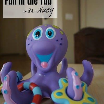 8-Legged Fun in the Tub