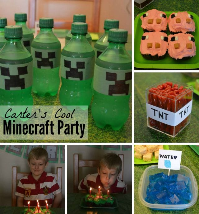 Carter's Cool Minecraft Party