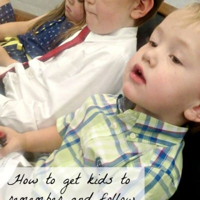 Our Family Household Rules: How to Help Kids Remember