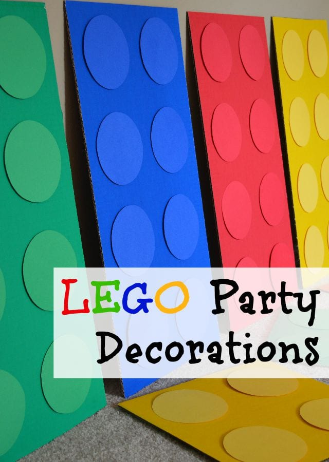 Lego Party Decorations Shaping Up To Be A Mom
