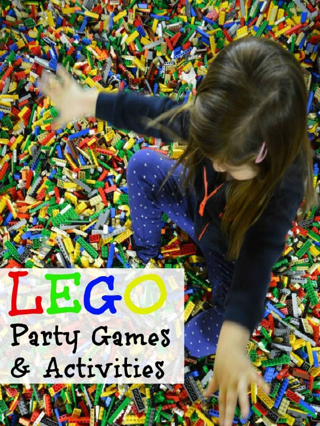 LEGO Birthday Party Games & Activities