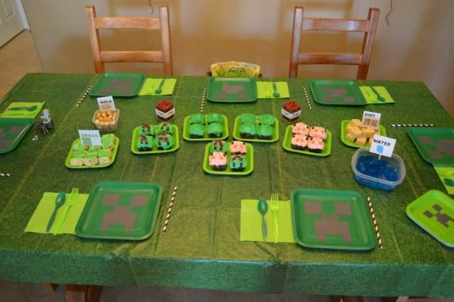 minecraft-party-food