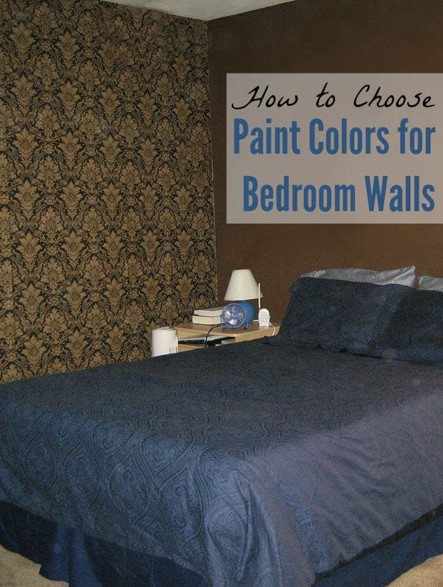 Paint Colors for Bedroom Walls