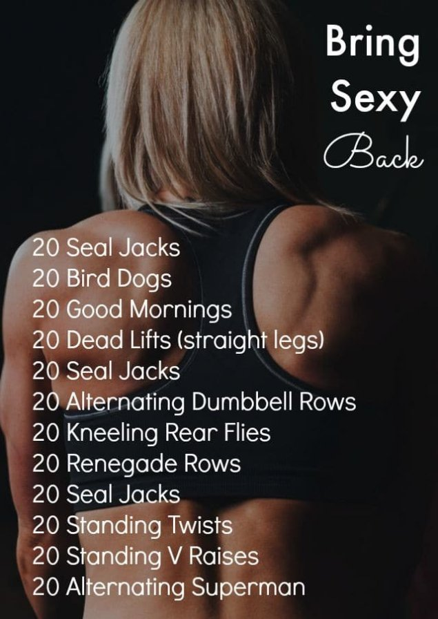 back at home workout