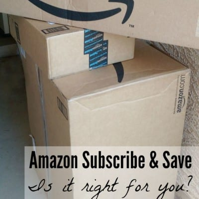 Is Amazon Subscribe & Save Right For You?
