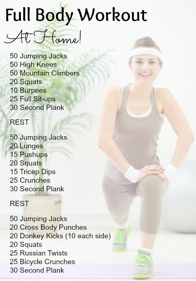 Best At Home Workouts Shaping Up To Be A Mom