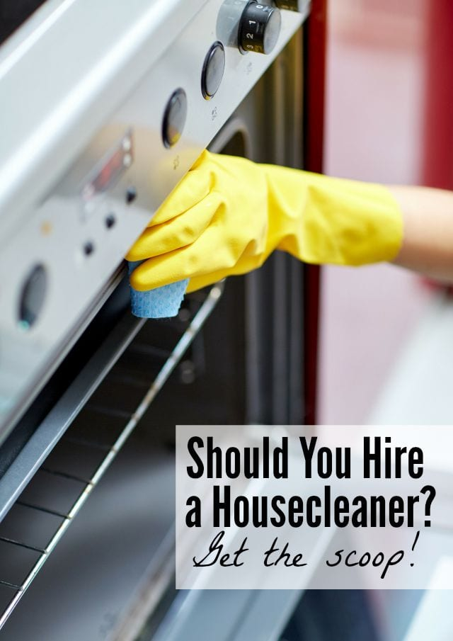 Should you hire a housecleaner? See how it went for us!
