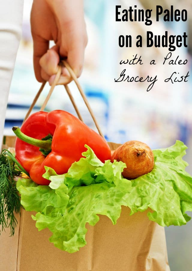 Paleo Grocery List & Eating Paleo on a Budget | Shaping Up ...