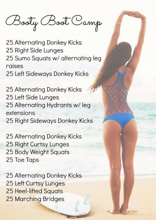 butt at home workout
