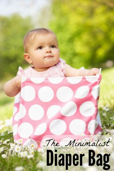 The Minimalist Diaper Bag