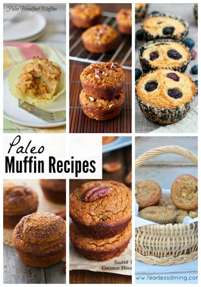 Paleo Muffin Recipes Round-Up