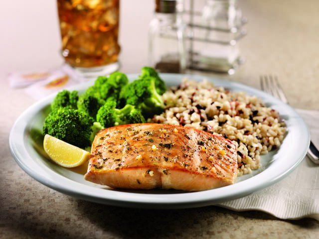 Fit Fare Alaska salmon