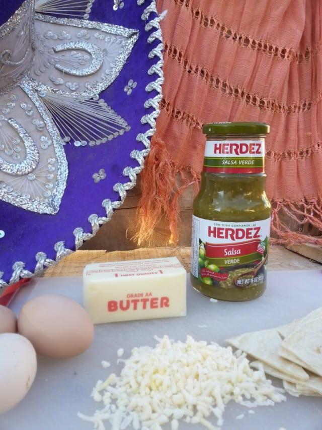 Breakfast Chilaquiles Ingredients