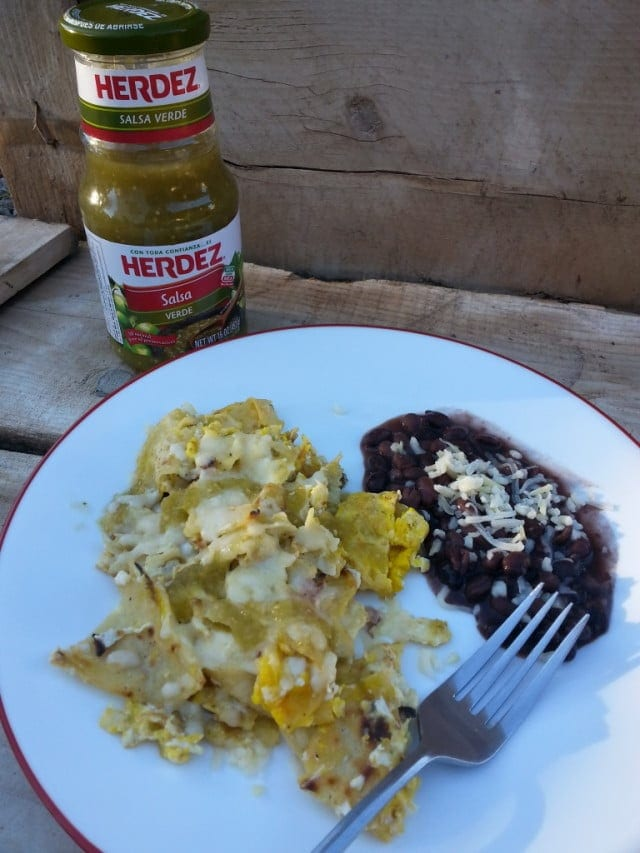 Mexican Breakfast Chilaquiles