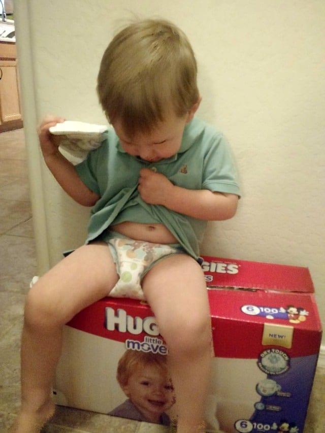 diaper-on