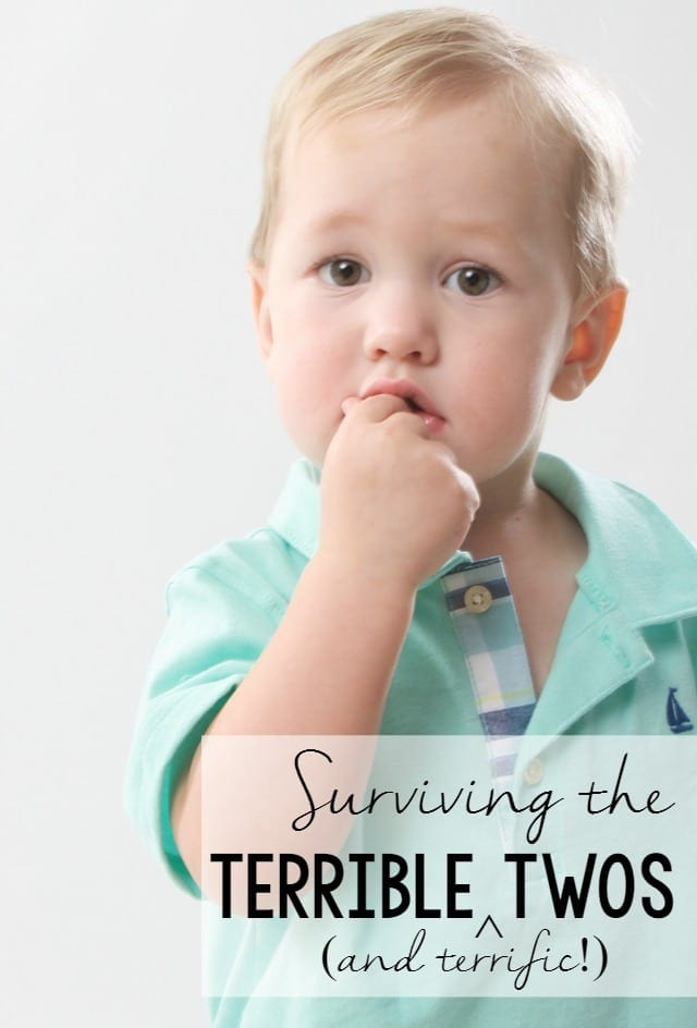 A guide to surviving the Terrible (and terrific) Twos, from moms who've been there! #MyHuggiesBaby #ad