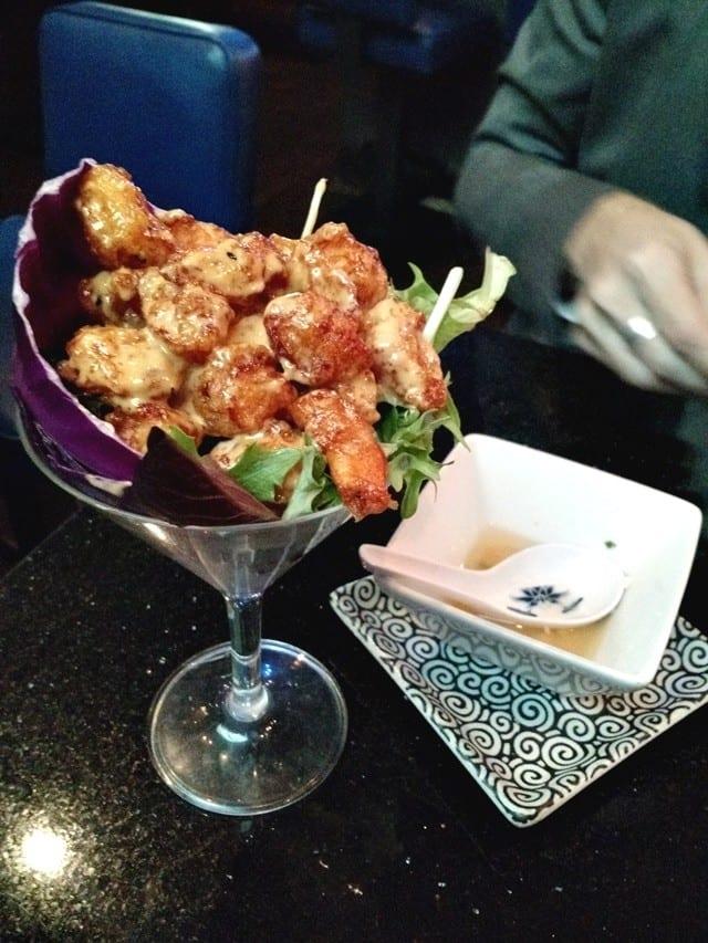 Blue Wasabi Rock Shrimp