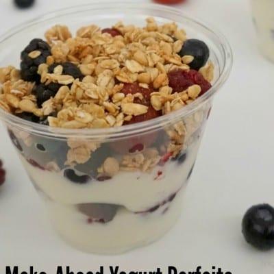Make-Ahead Yogurt Parfaits