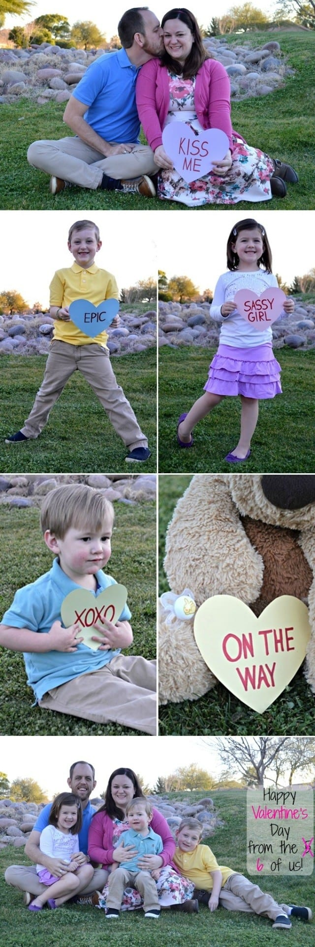 Cutest Valentine's Day-themed pregnancy announcement!
