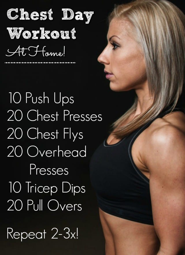 chest at home workout
