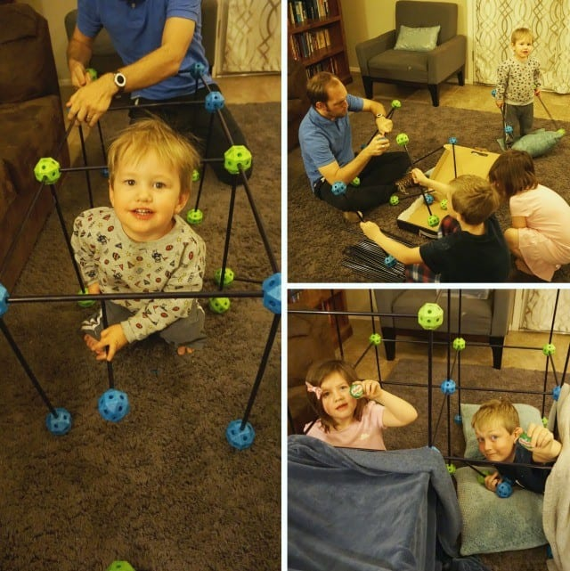 Family Fort Building