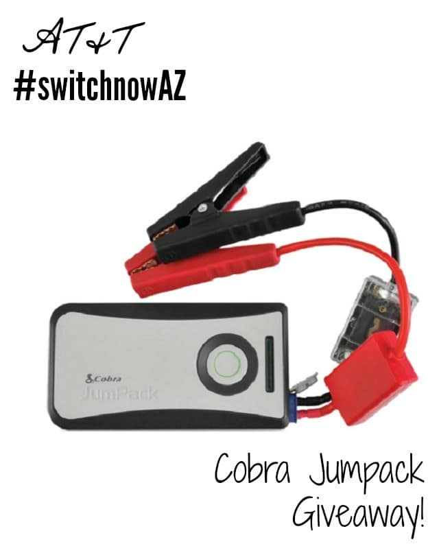 Cobra Jumpack Giveaway #switchnowAZ #ad
