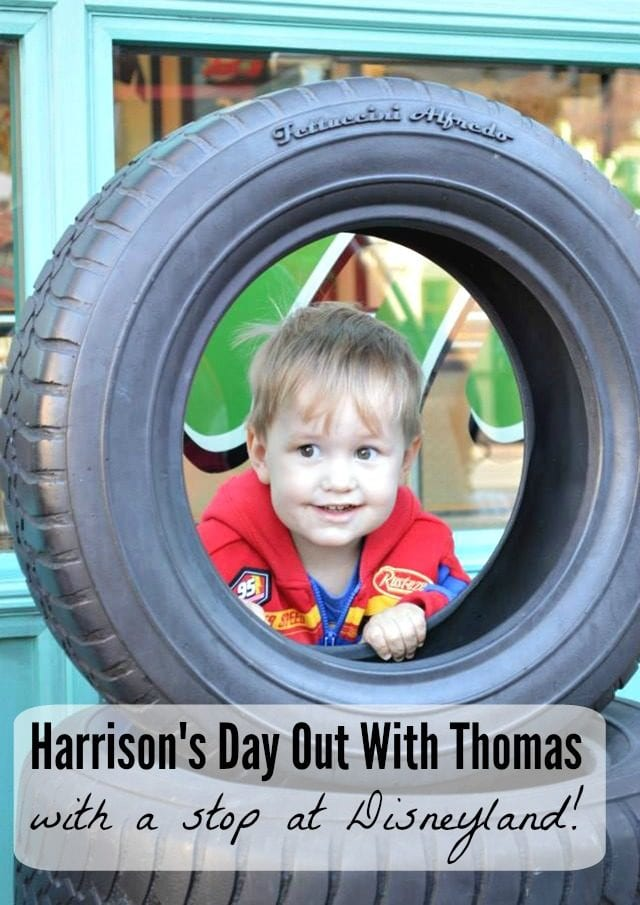 "We took two-year-old Harrison for a day at Disneyland and California Adventure, and ""A Day Out With Thomas!"" Check out the trip report!"