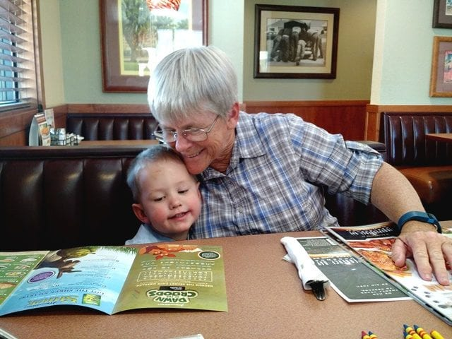 Gramma and Harry