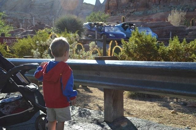 Watching Radiator Springs Racers