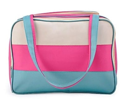 KOSOX Pink and Blue Diaper Tote Bag
