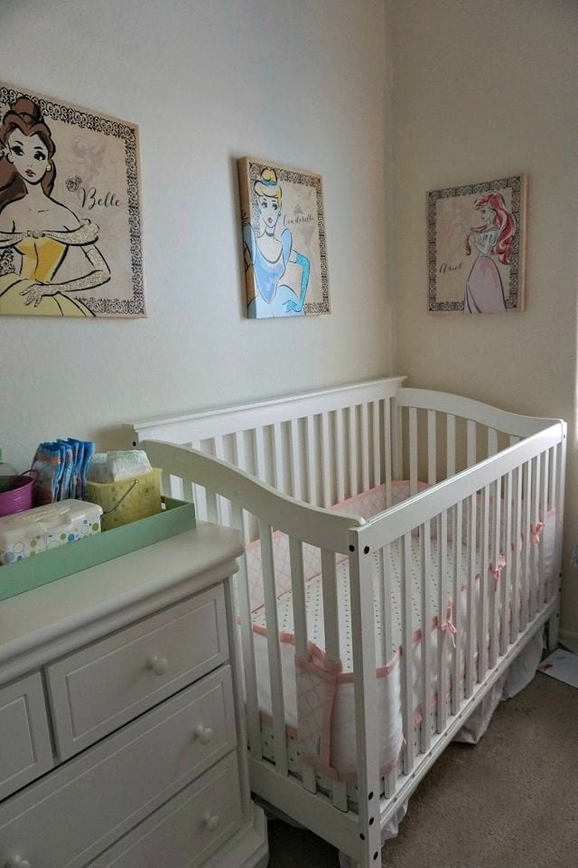 Baby essentials crib