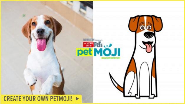 Create your own PetMoji