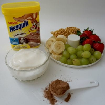 Quick and Healthy Chocolate Fondue