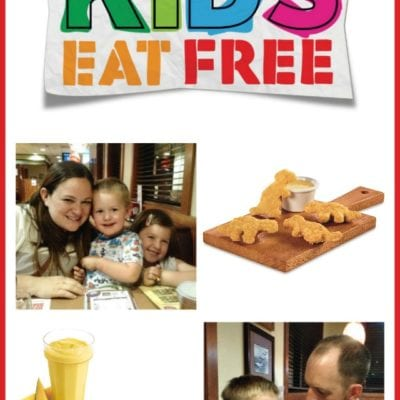 PJ Night and Kids Eat Free at Denny's