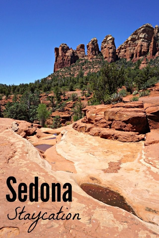 Sedona is just about two hours north of Phoenix, and it makes for a great summer staycation! Get out of the heat and go see the red rocks. Check out our adventures!