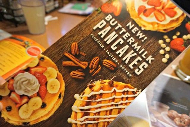Dennys New Pancakes
