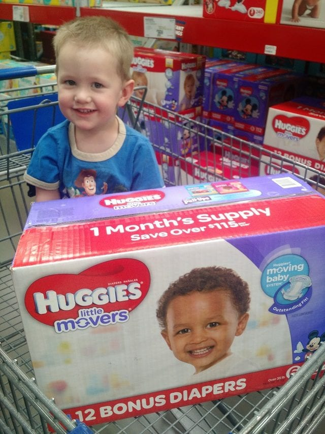 Huggies Little Movers at Sam's Club