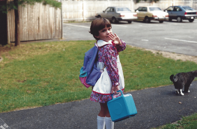 Megan as Kindergartner