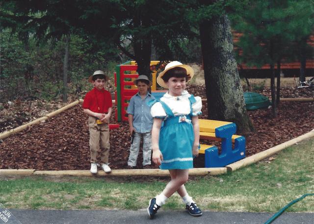 Megan at 5