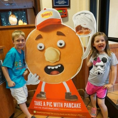 Denny's All-New Pancakes